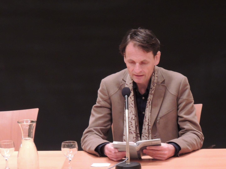 Schriftsteller Wolfgang Hermann las aus seinem neuen Roman