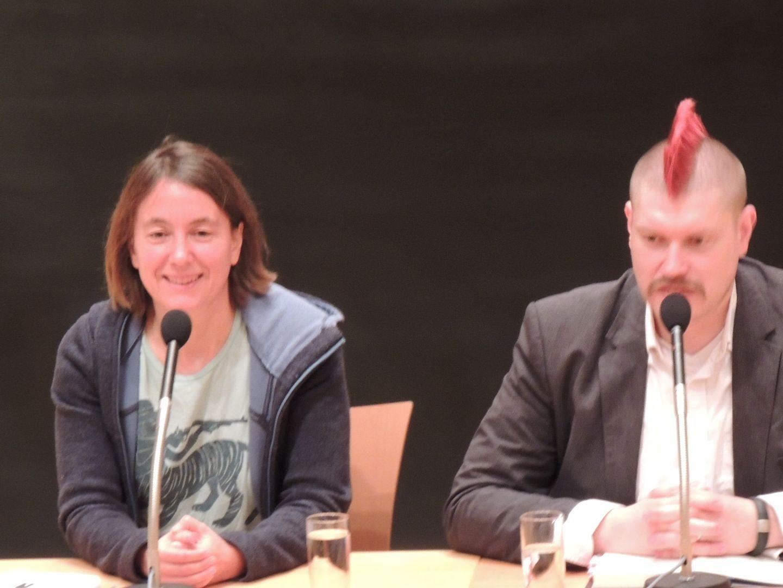 Autorenduo Kathrin Passig und Sascha Lobo