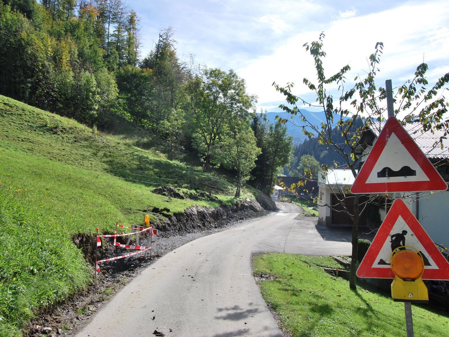 Straßensanierung Eschenau
