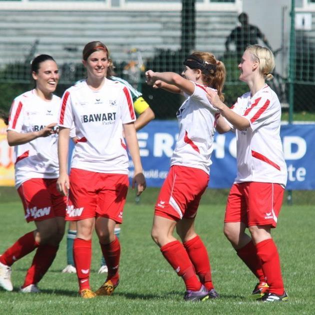 Die Rankler Damen wollen am Sonntag im Ländlederby in Lustenau gewinnen und jubeln.