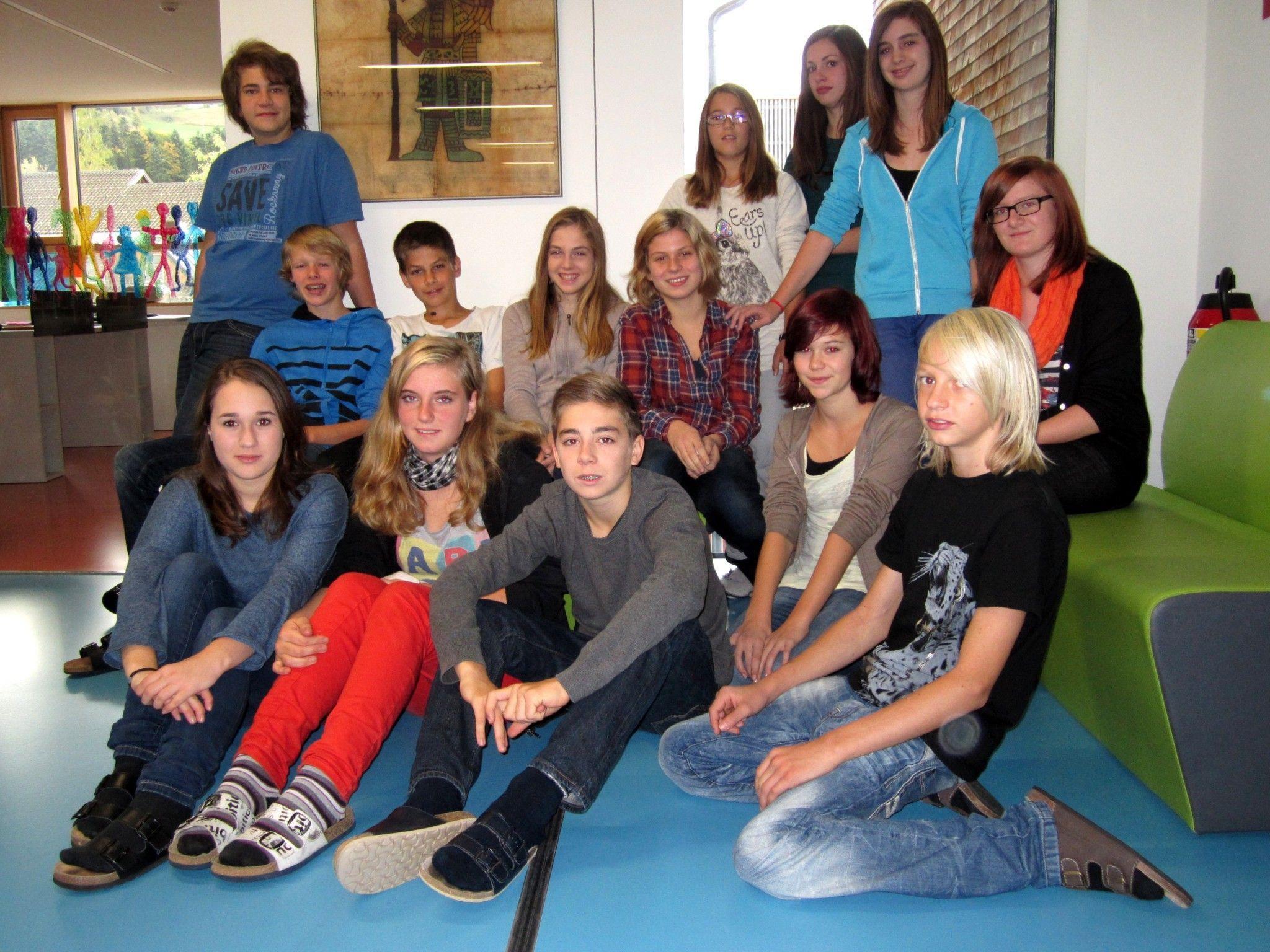 Die Poetry-Slammer der Mittelschule Alberschwende begeisterten mit ihrer Kreativität.