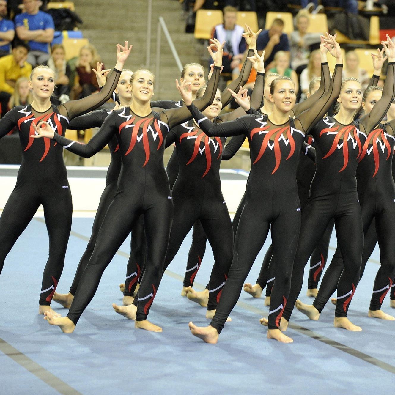 Einen sensationellen achten Platz belegte die TSZ Dornbirn bei der Team Turnen EM in Dänemark.