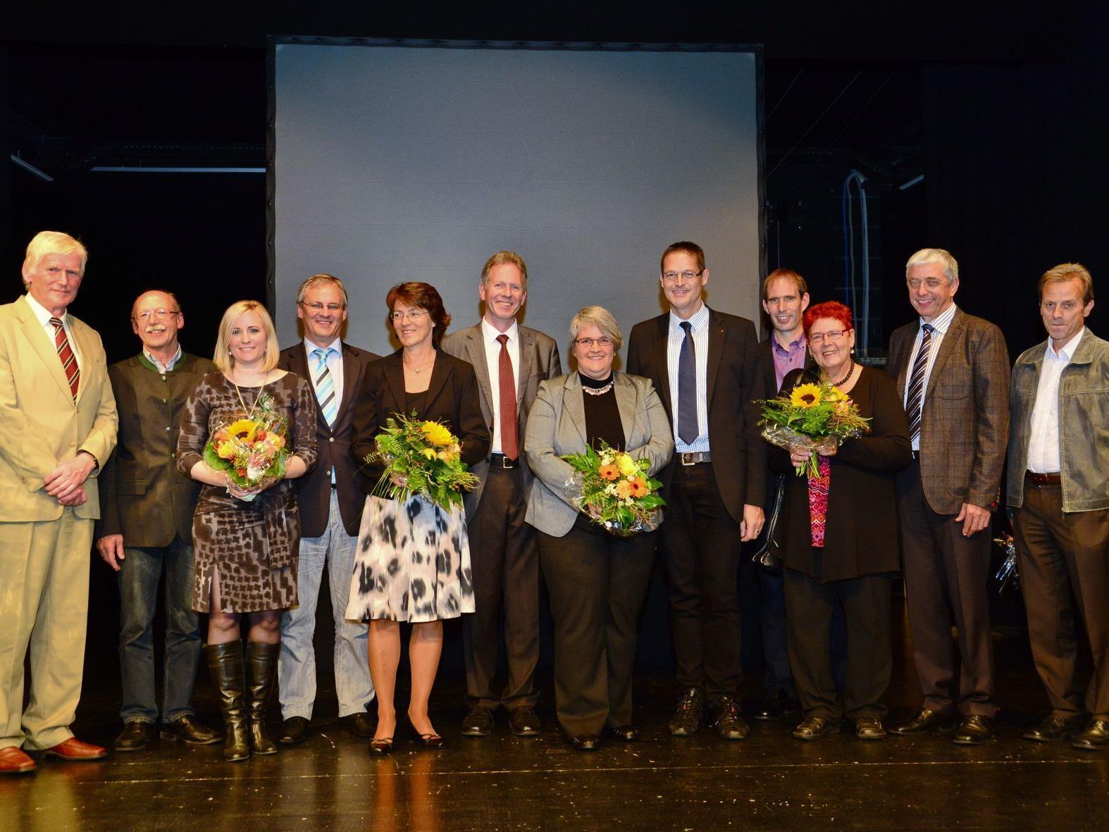 """Das Jubiläum """"Sichere Gemeinden"""" und """"Safe Community 2012"""" konnten gefeiert und geehrt werden."""