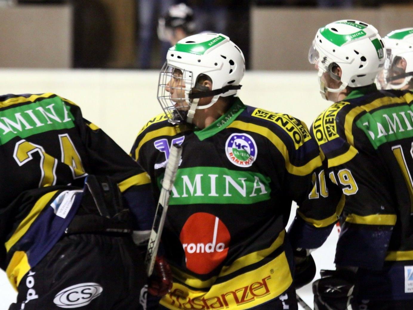 HC Samina Rankweil feierte den ersten Saisonsieg in der Schweiz dank einem starken Furioso.