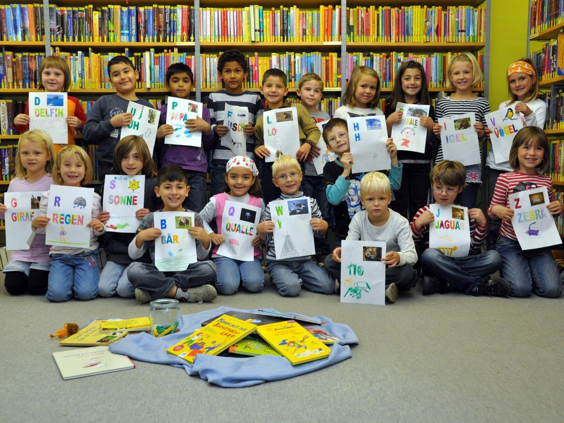 In Dornbirn gibt es spannende Aktionen für große und kleine Leseratten.