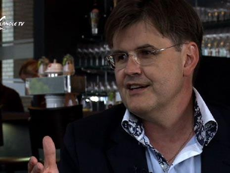 Bernhard Feigl beim Ländle Talk in Götzis