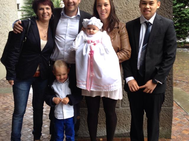 Taufe von Maili Thurner, Erlöserkirche am 7.10.12