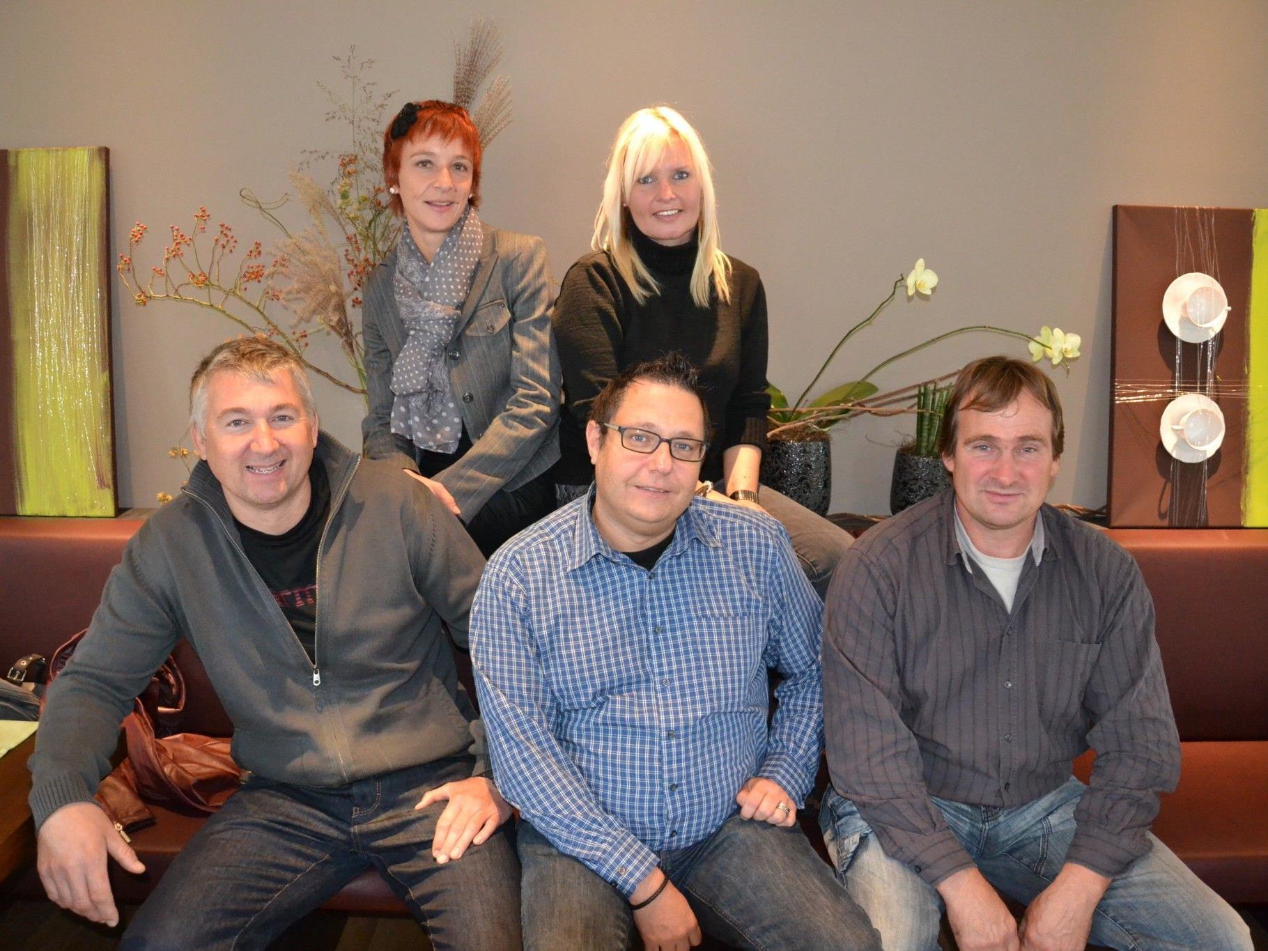 Der Vorstand der Funkenzunft Götzis freut sich schon auf den Funkensonntag 2013