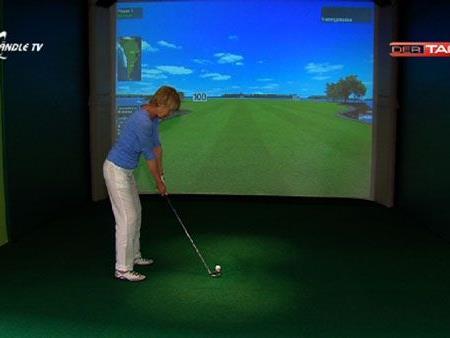 Indoor Golfanlage in Bludesch