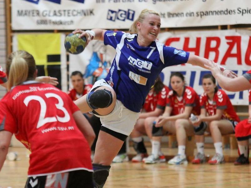 Das große Damenhandballderby steigt am Samstag in Feldkirch.