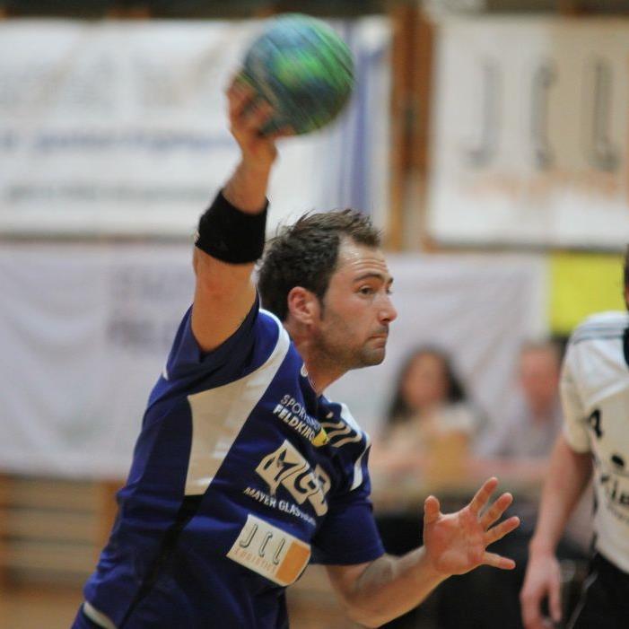Philipp Franz warf neun Traumtore und war bester Torschütze der Feldkircher Handballer.