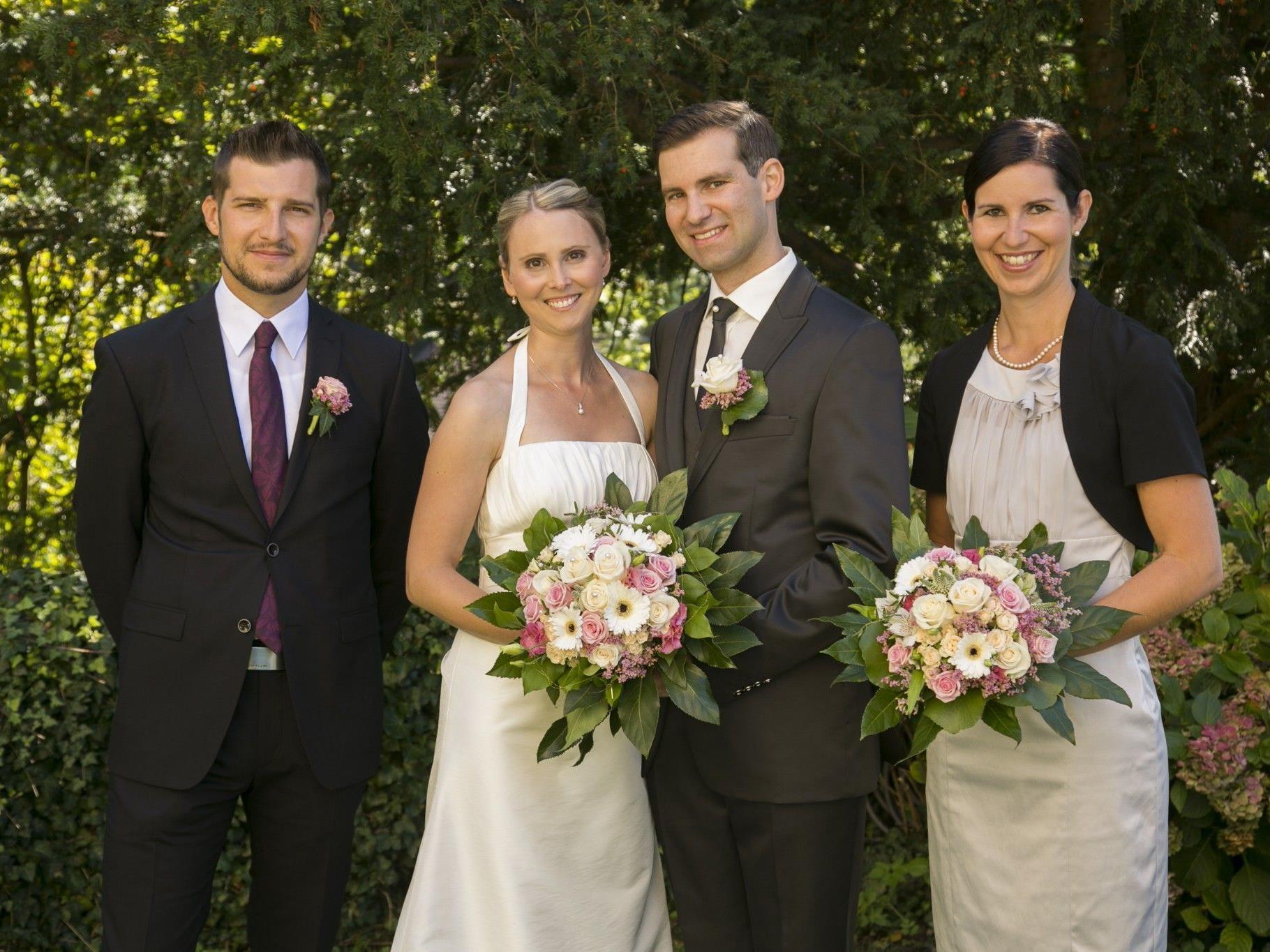 Marion Traunig und Jürgen Handle haben geheiratet.