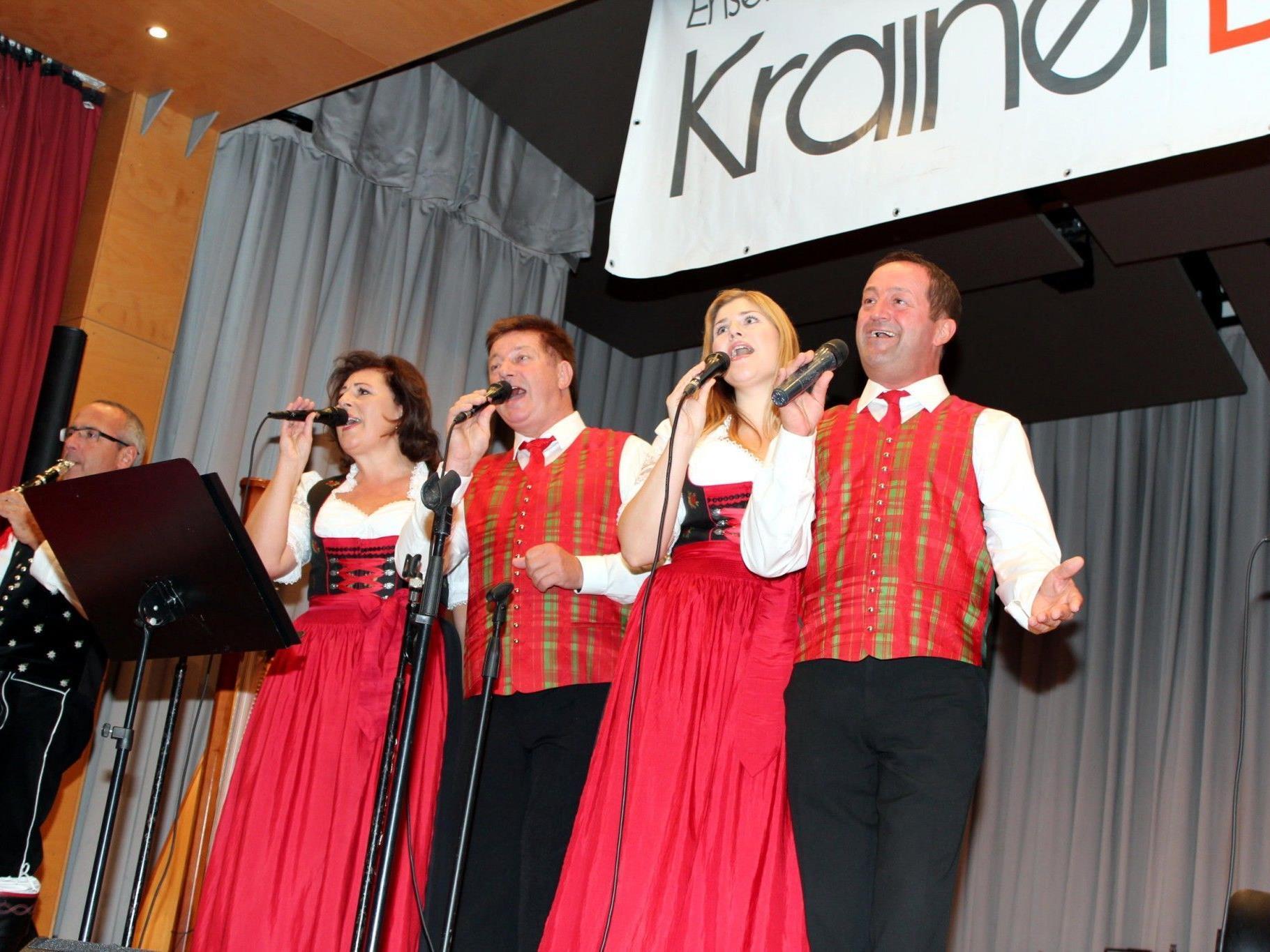 """""""Krainer Bluat"""" sorgte für beste musikalische Unterhaltung."""