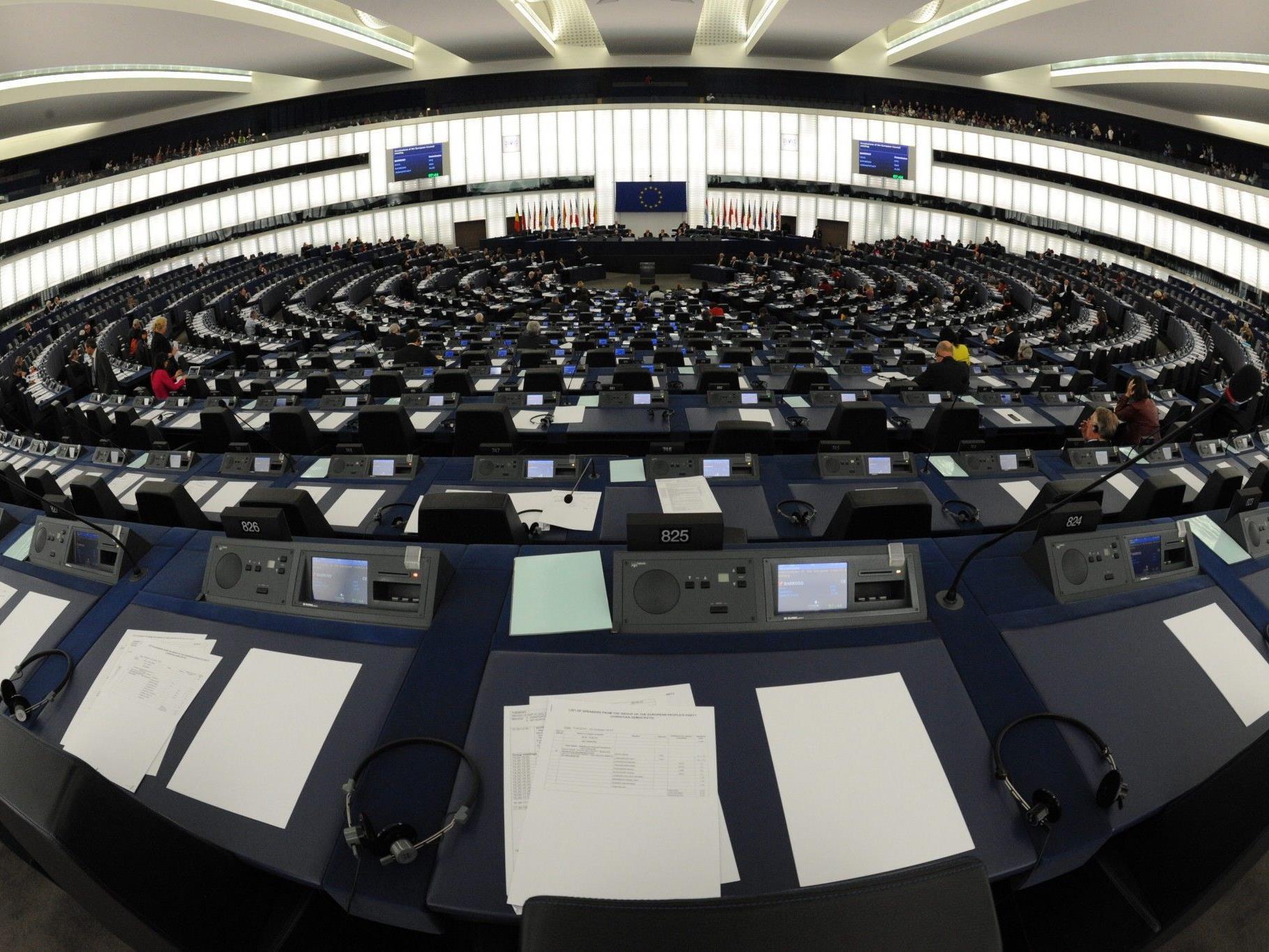 Das EU-Parlament in Straßburg.