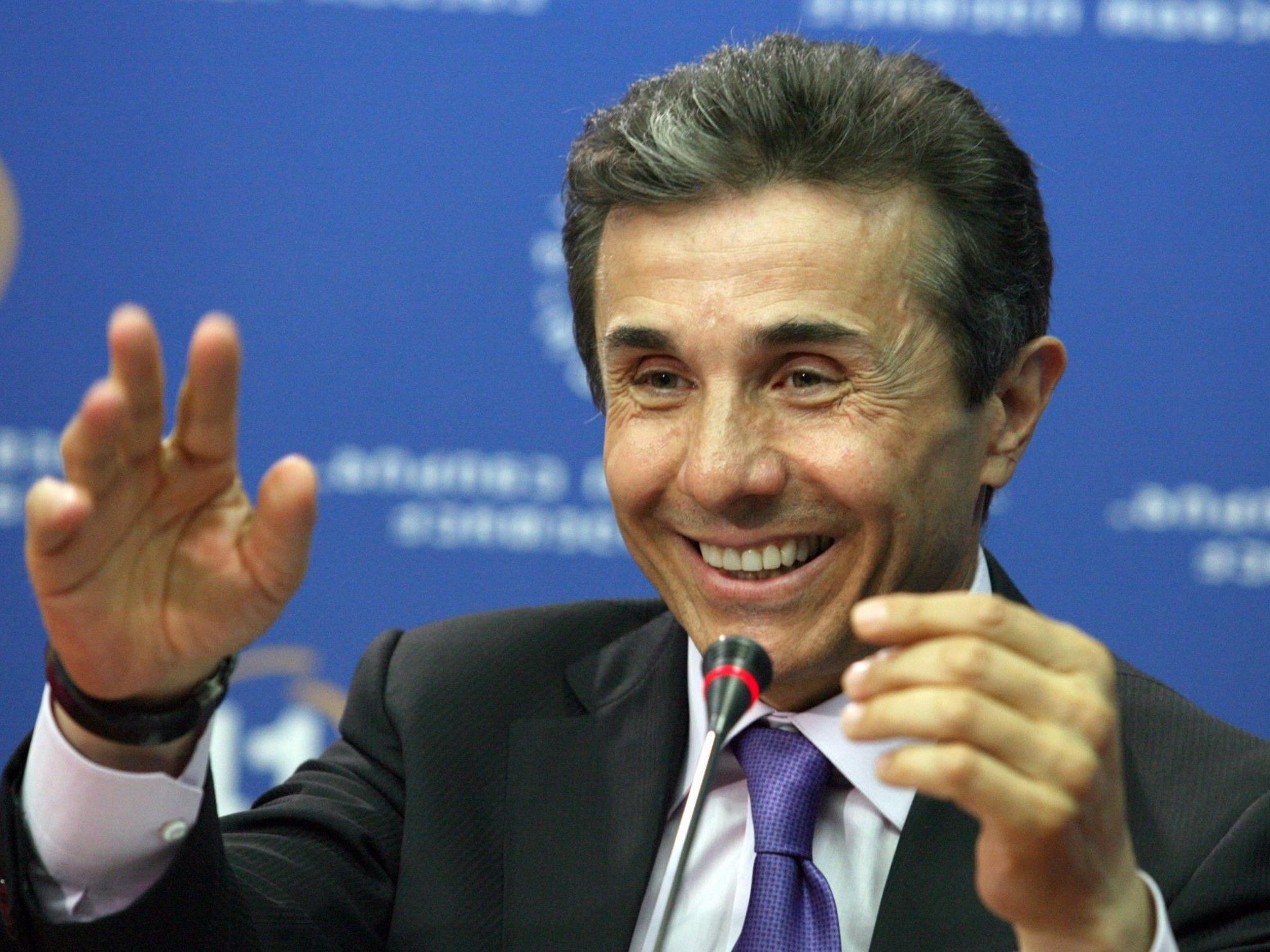 Wahlsieger der Georgischen Parlamentswahlen: Milliardär Iwanischwili.