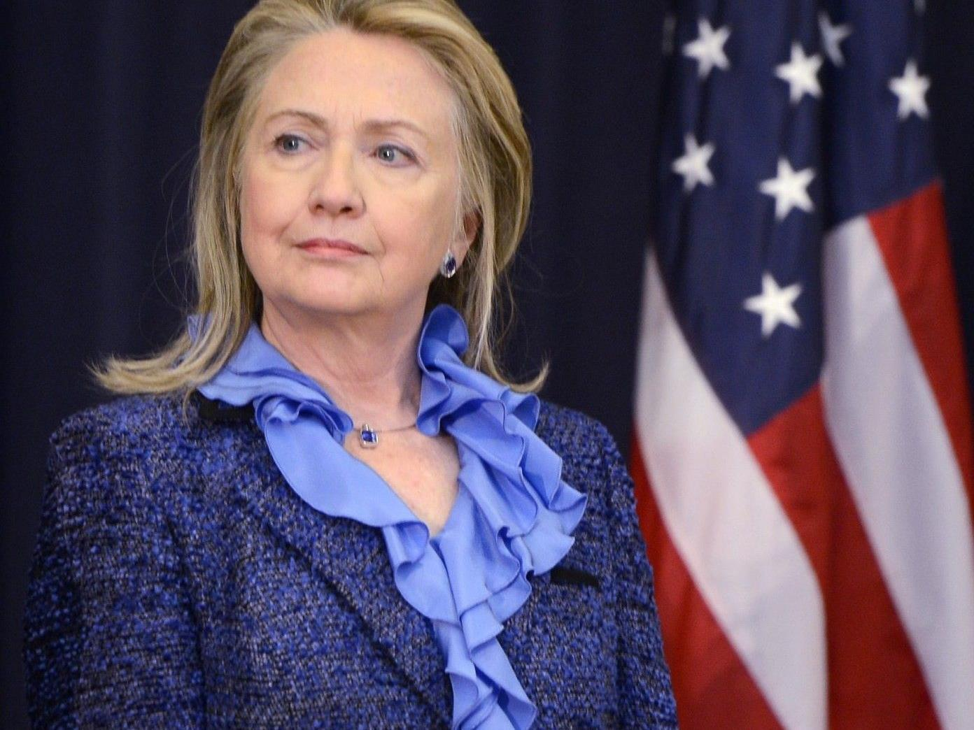 US-Außenministerin Hillary Clinton.