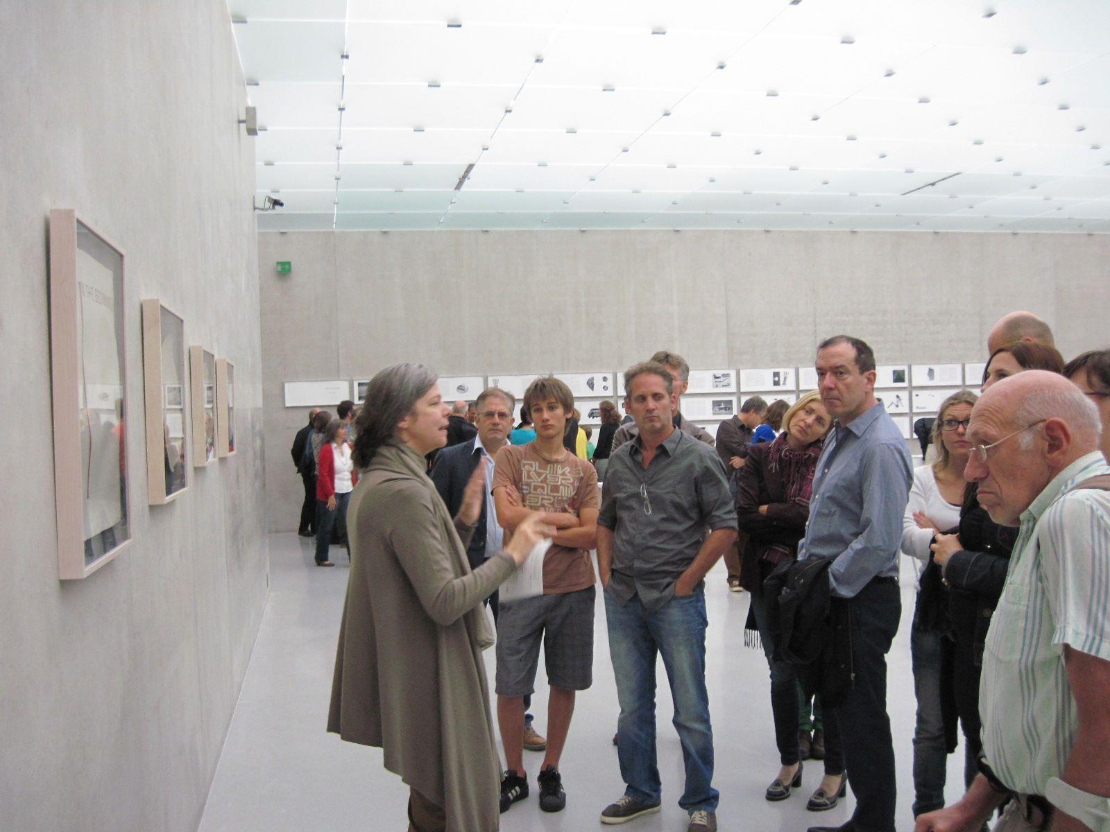 Führungen ergänzten das Ausstellungsangebot für Kunstinteressierte