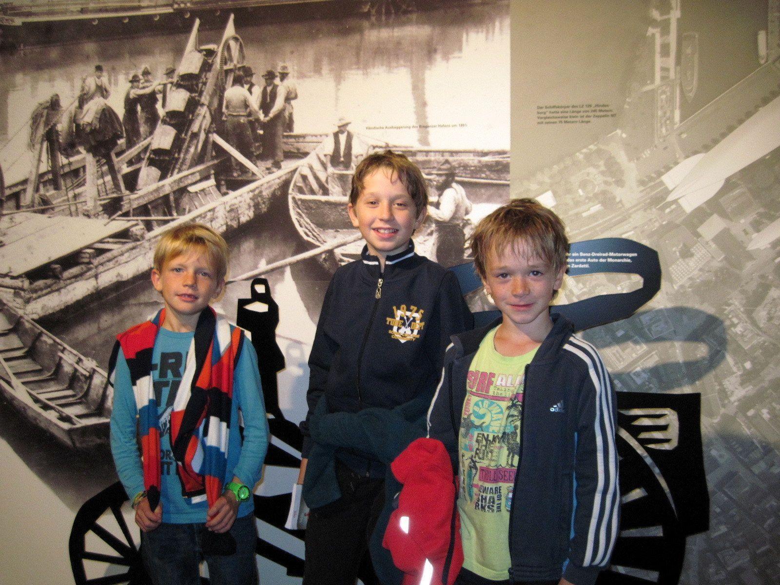 Juri, Timon und Sebastian besuchten den Martinsturm
