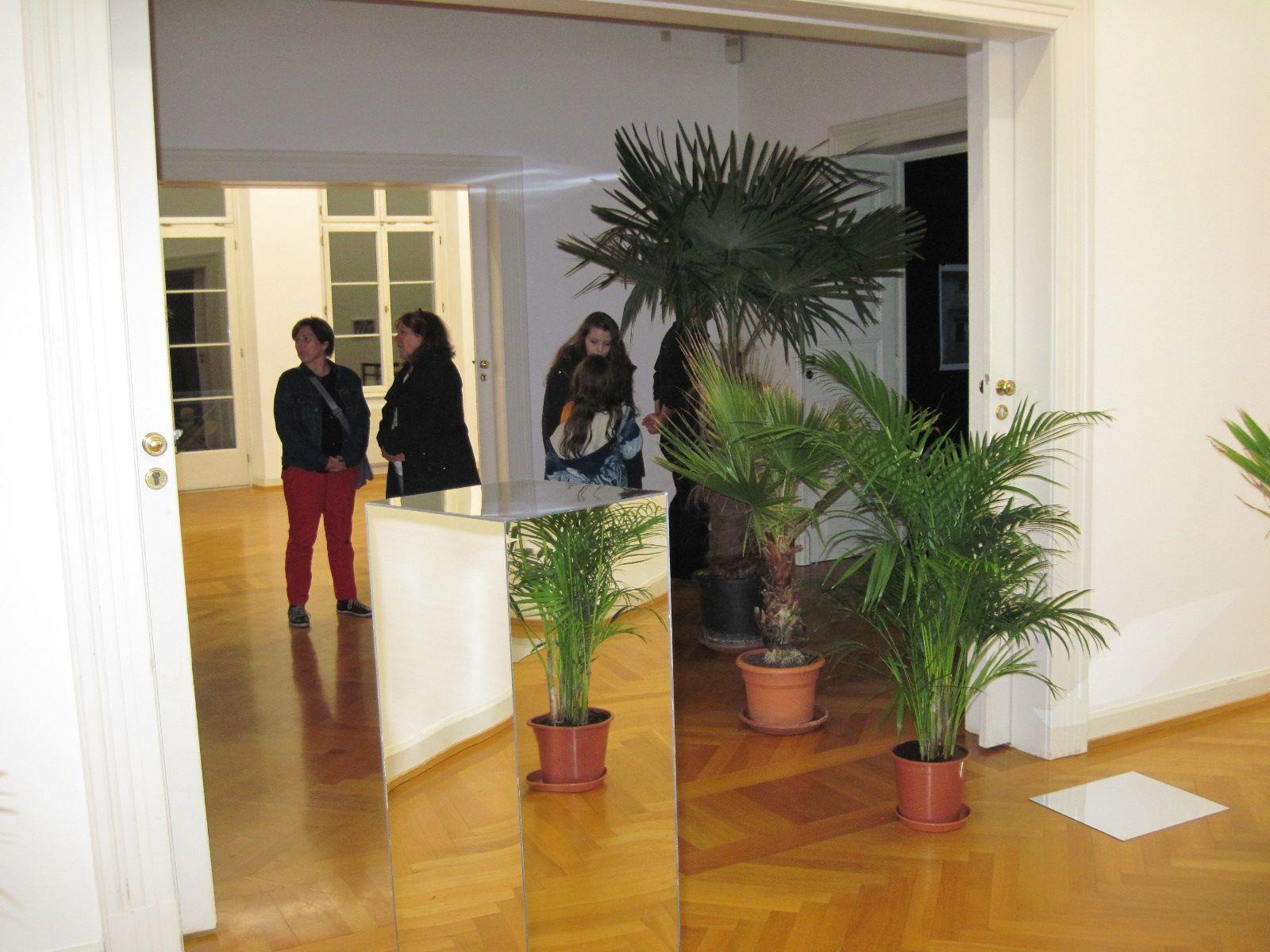 Besonderes Ambiente im Künstlerhaus