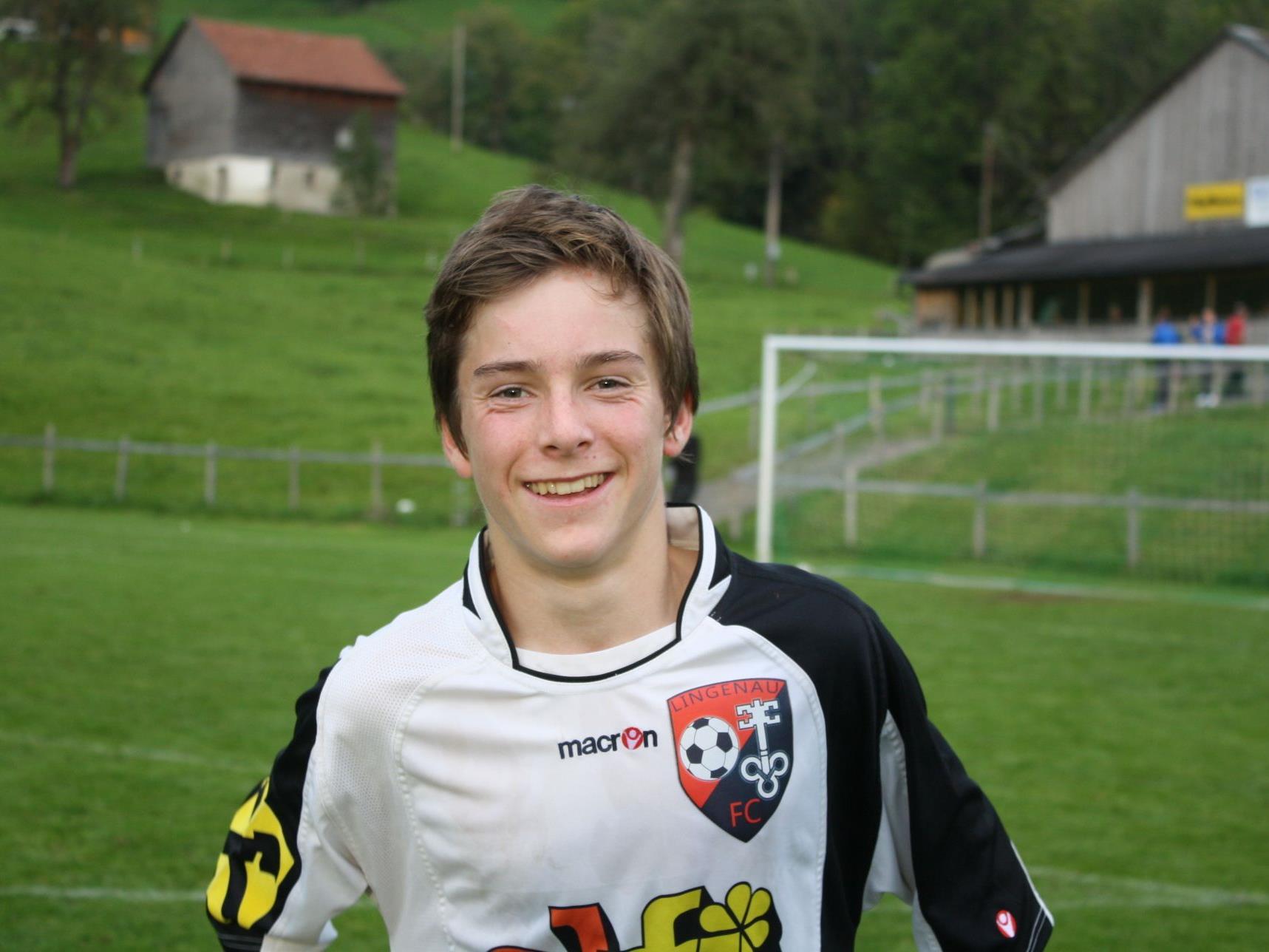 Nachwuchstalent Elias Schwärzler erzielte sein erstes Meisterschaftstor.