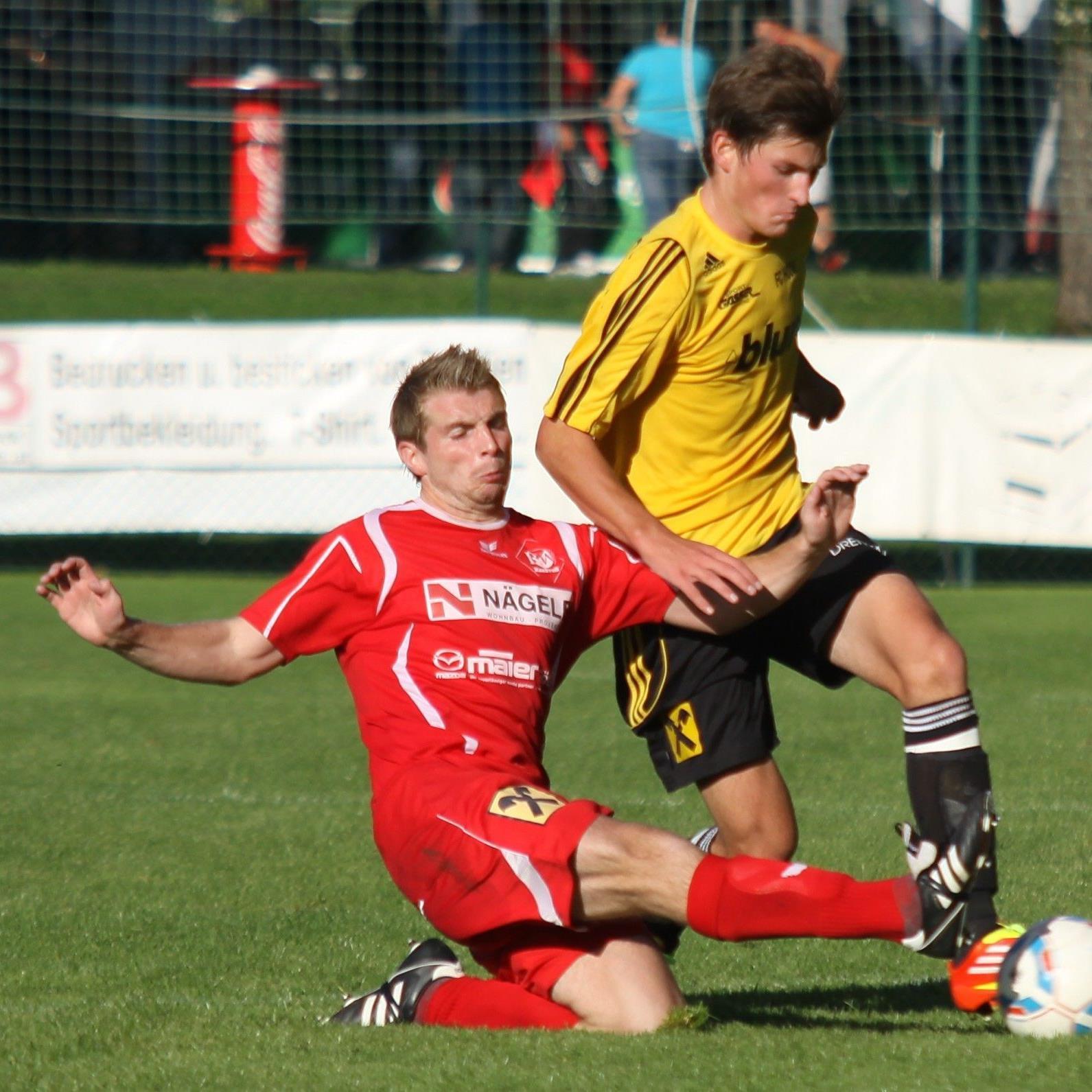 Die Entscheidung um den Halbzeittitel in der Vorarlbergliga rückt näher.