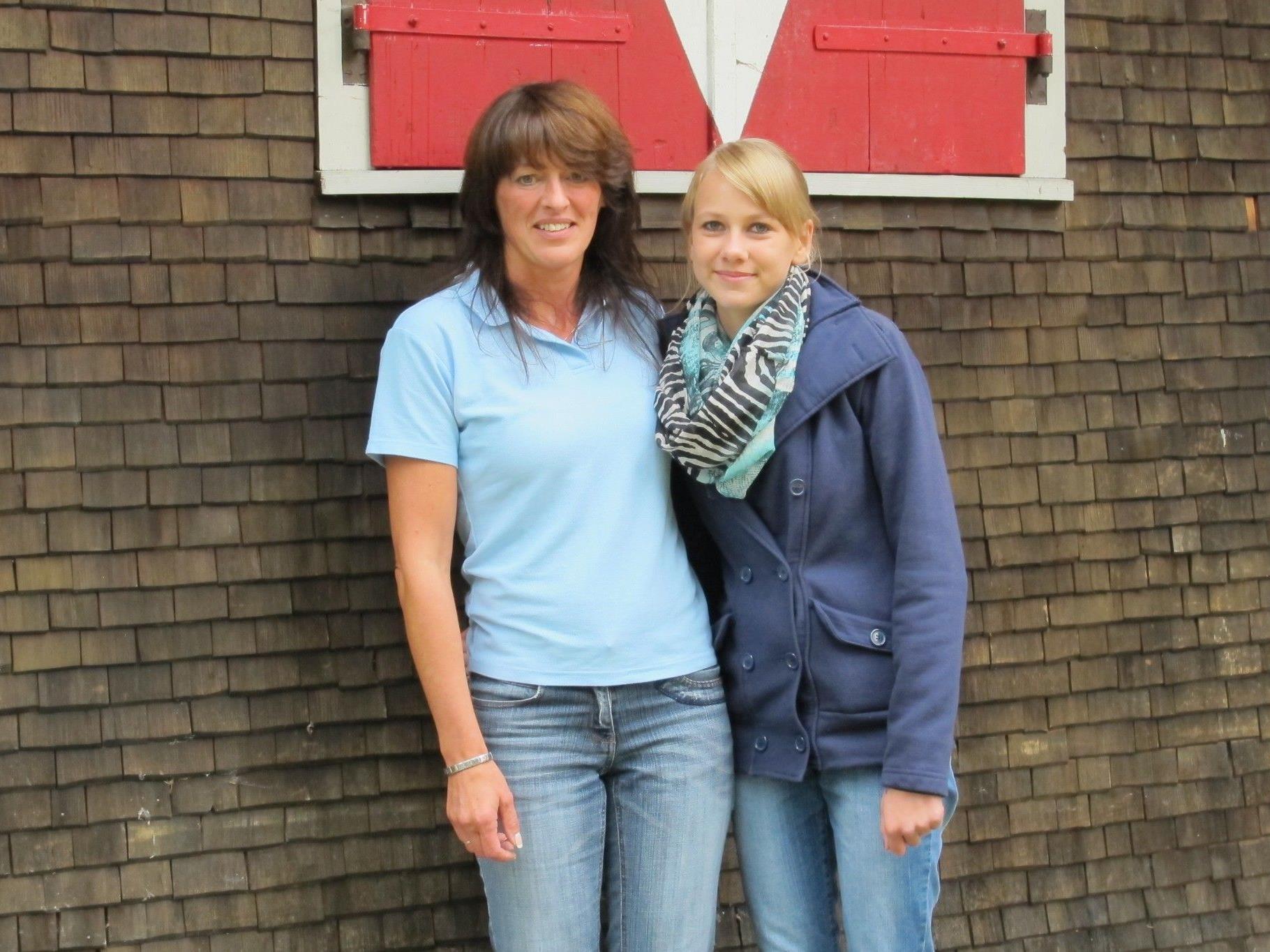 Evelyn Fleisch und Chiara Piazza sind stolz auf ihre Erfolge.