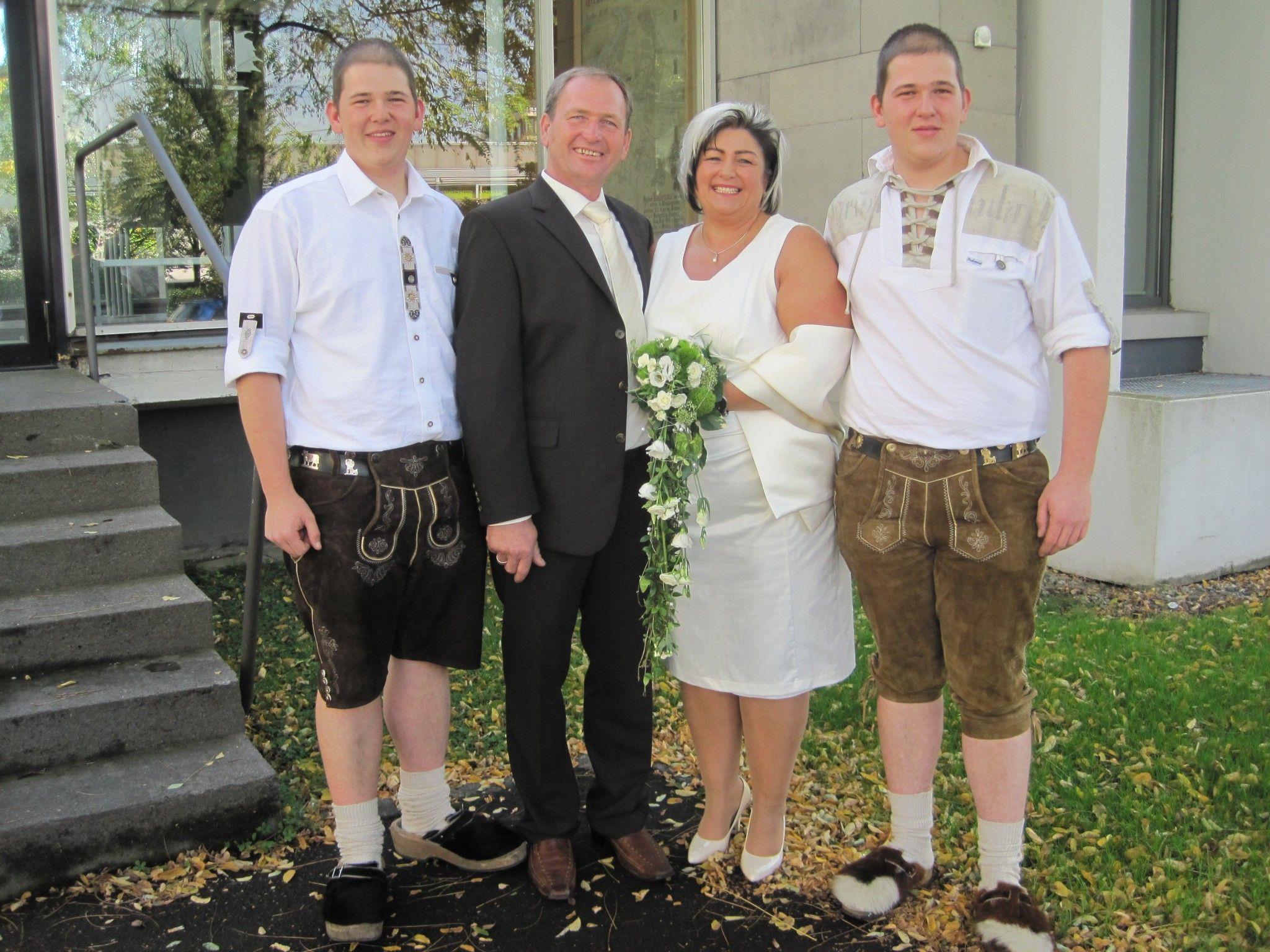 Cornelia Murer und Erwin Bösch haben geheiratet