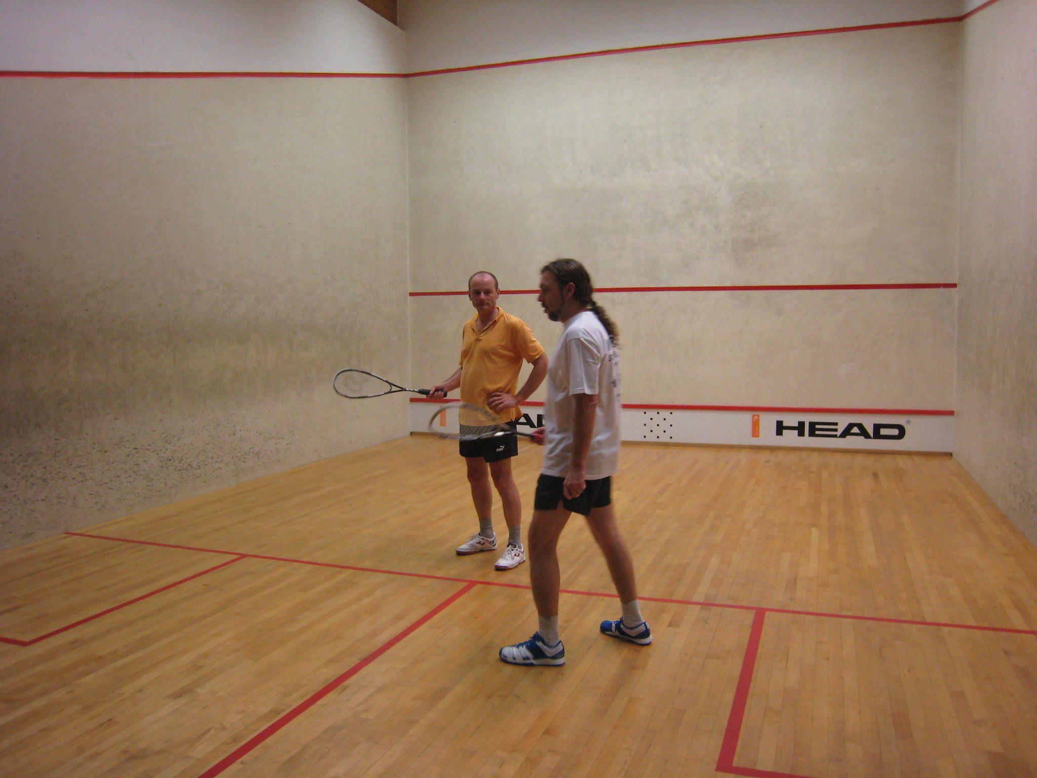 Erklärung der Squashregeln