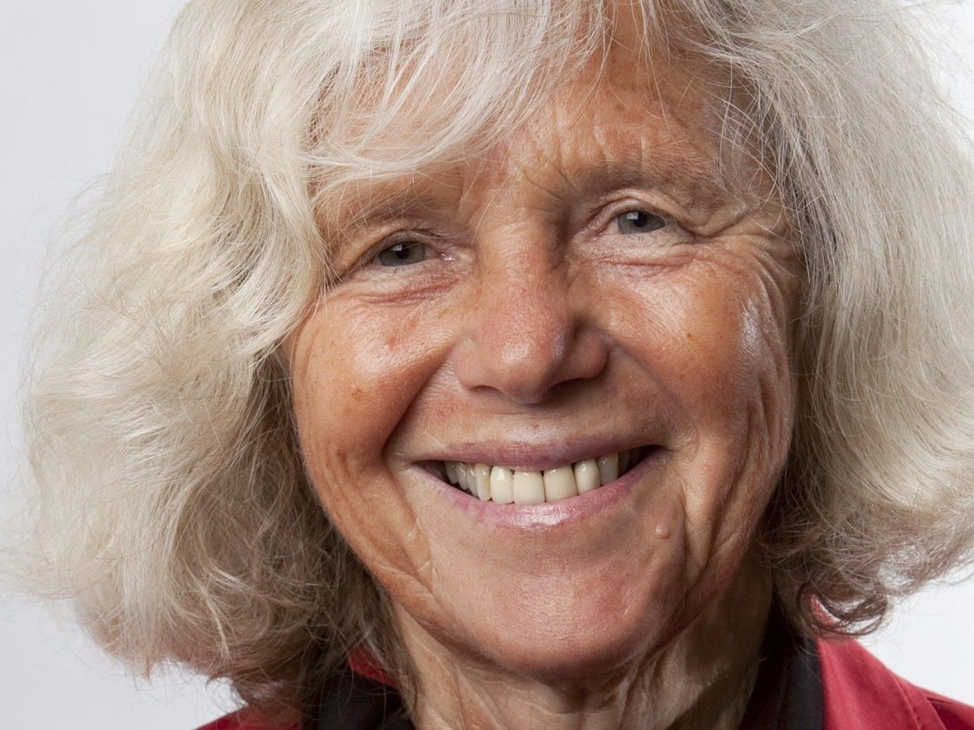 """Verena Kast als Referentin zum Thema """"Vom Umgang mit der Trauer"""" im Pfarrsaal Tisis am 7. November"""