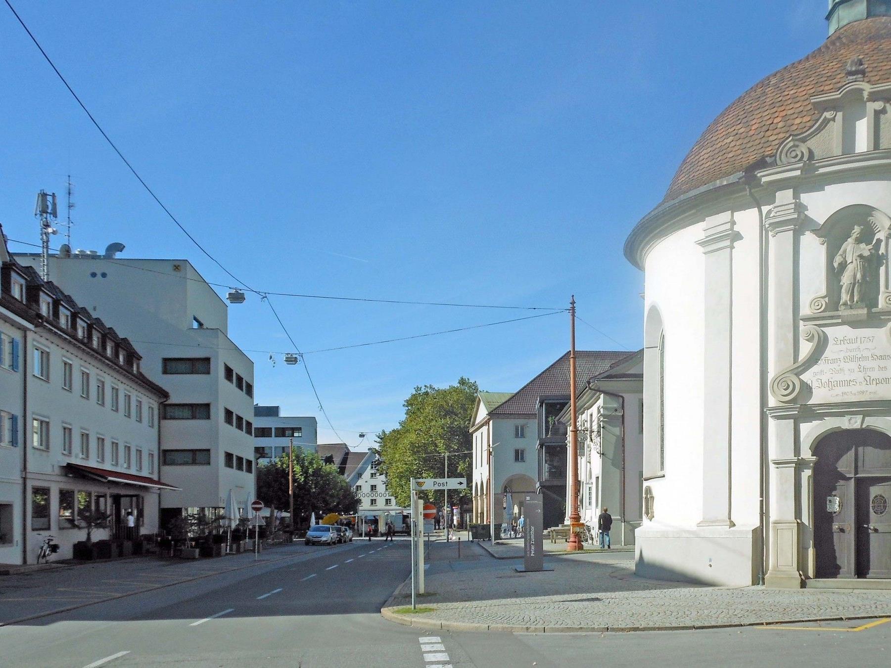 Kornmarktplatz in Bregenz
