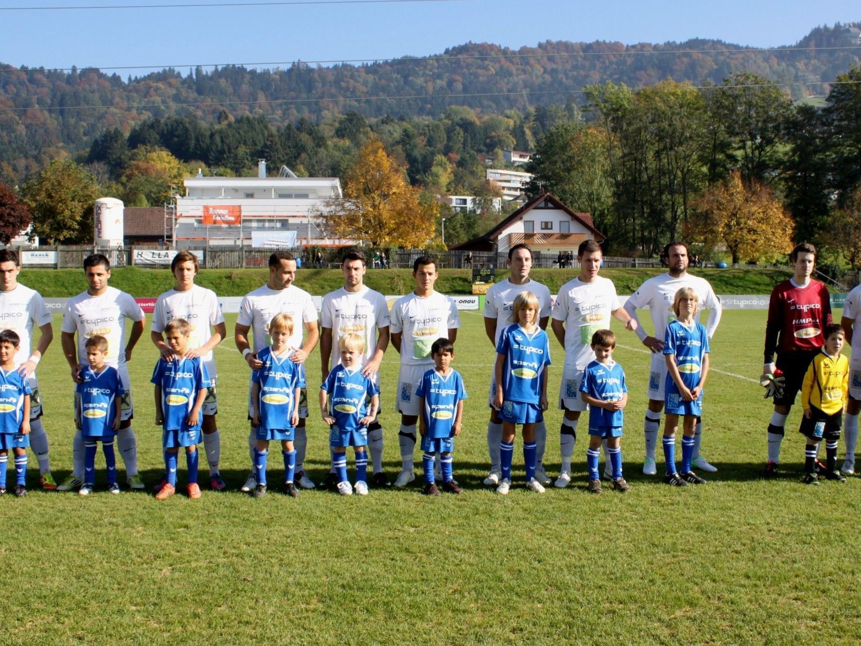 Der SV Typico Lochau lädt alle Fußballfans am Samstag zum Heimspiel auf die Sportanlage Am Hoferfeld.