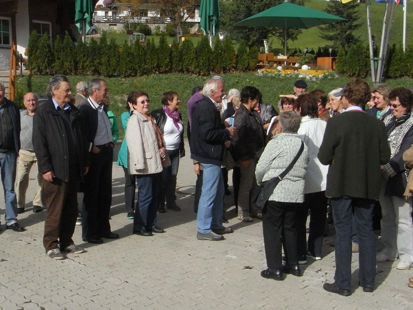 Die Lochauer Senioren besuchten das Kleine Walsertal.