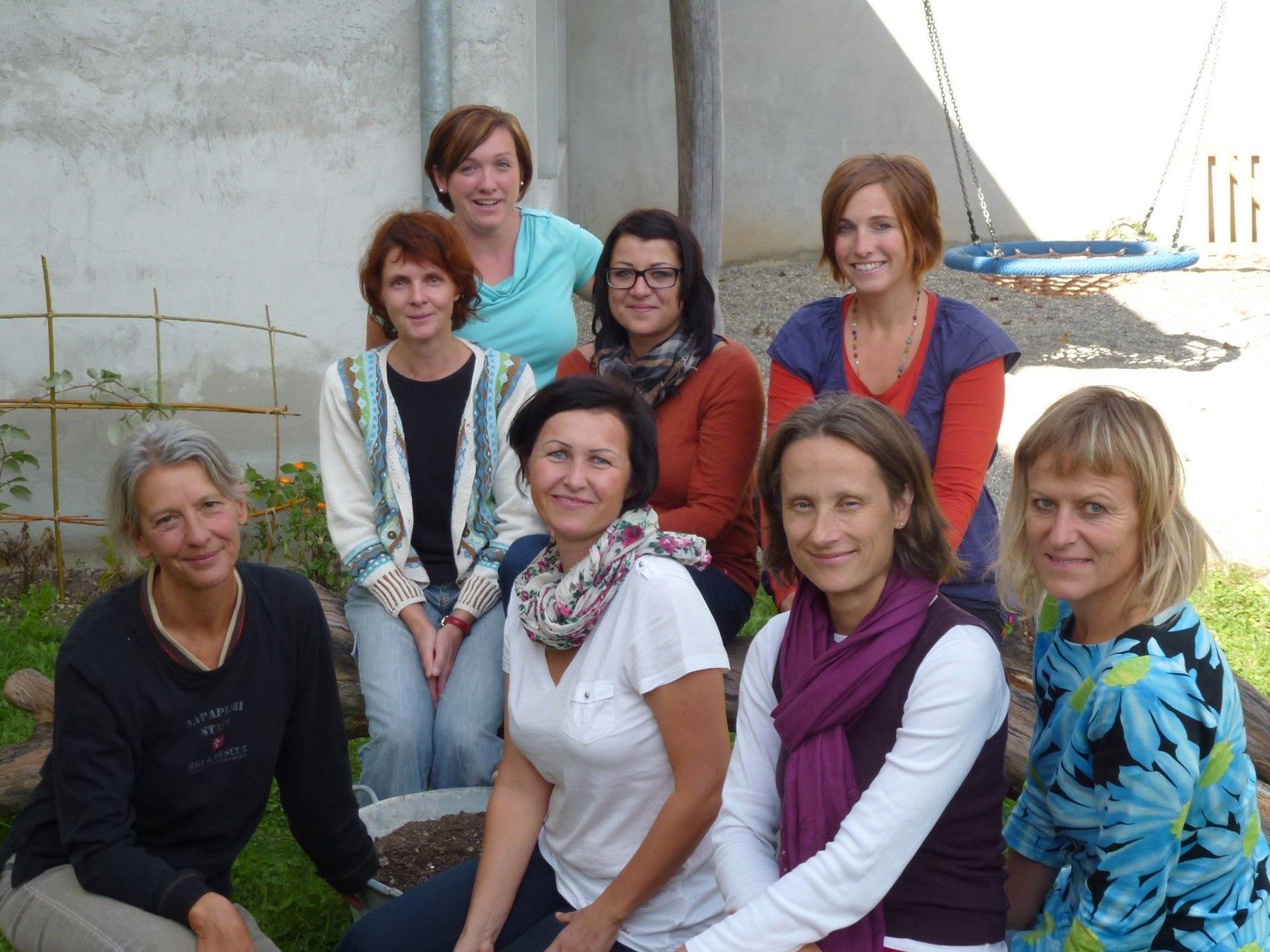 Das Pädagogen-Team des Montessori Zentrums Oberland