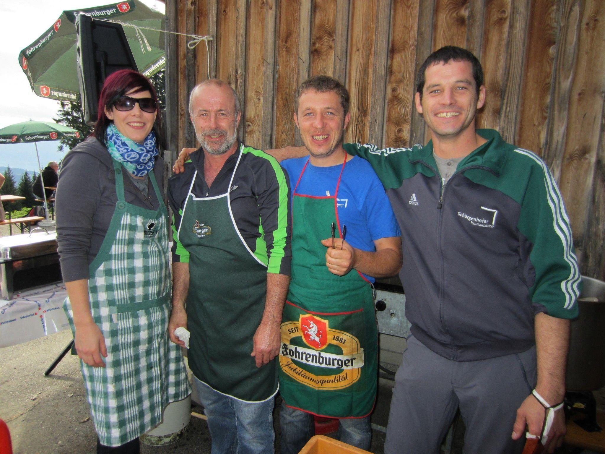 Das Grillteam des Schiverein Fraxern.