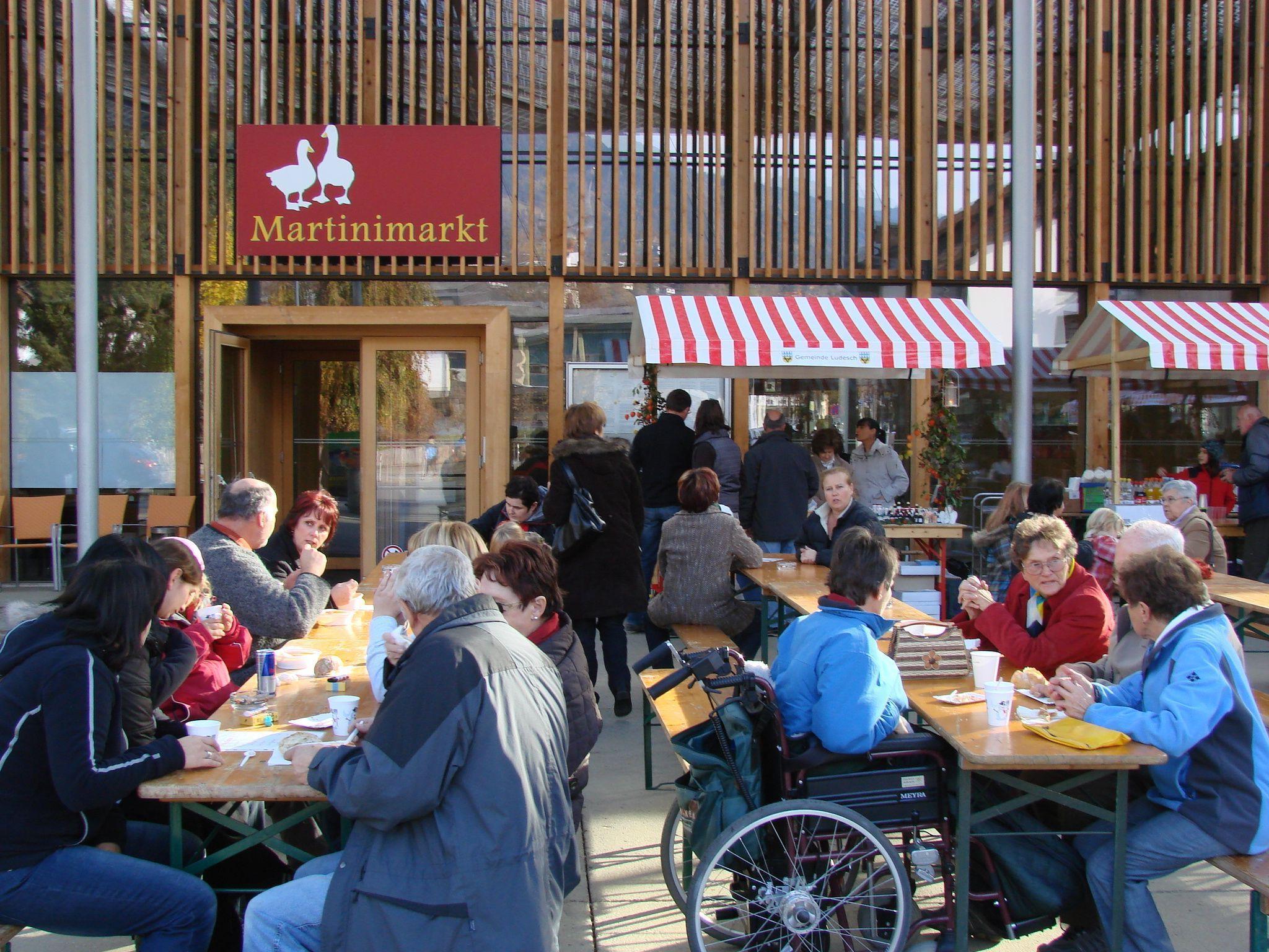 Am 10.11., nicht vergessen: Martinimarkt in Ludesch