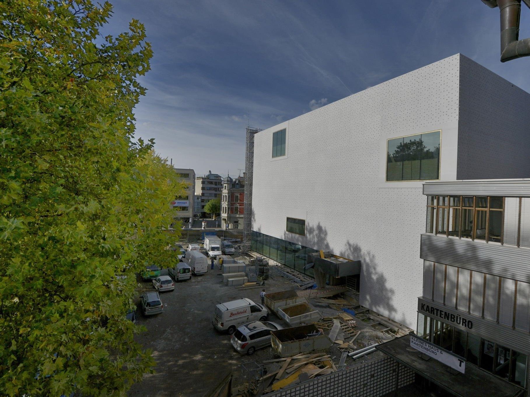 Bau und Programm des neuen Landesmuseums auf der Zielgeraden.