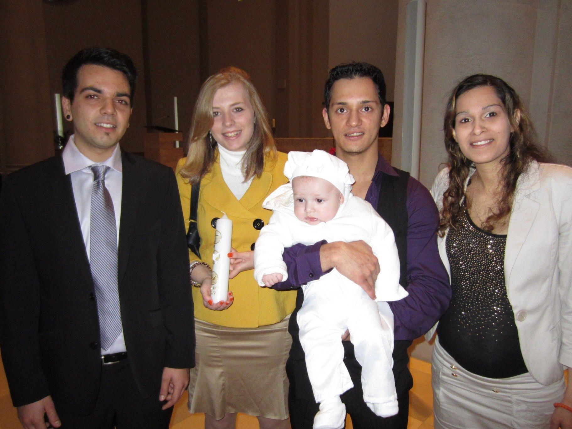 Juliano Ronacher wurde getauft.