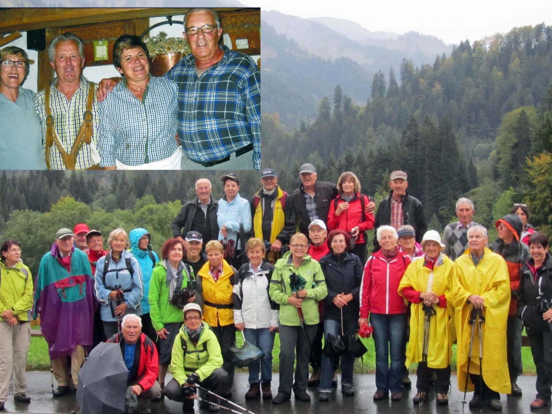 Team per pedales: Abschlusswanderung in Ebnit