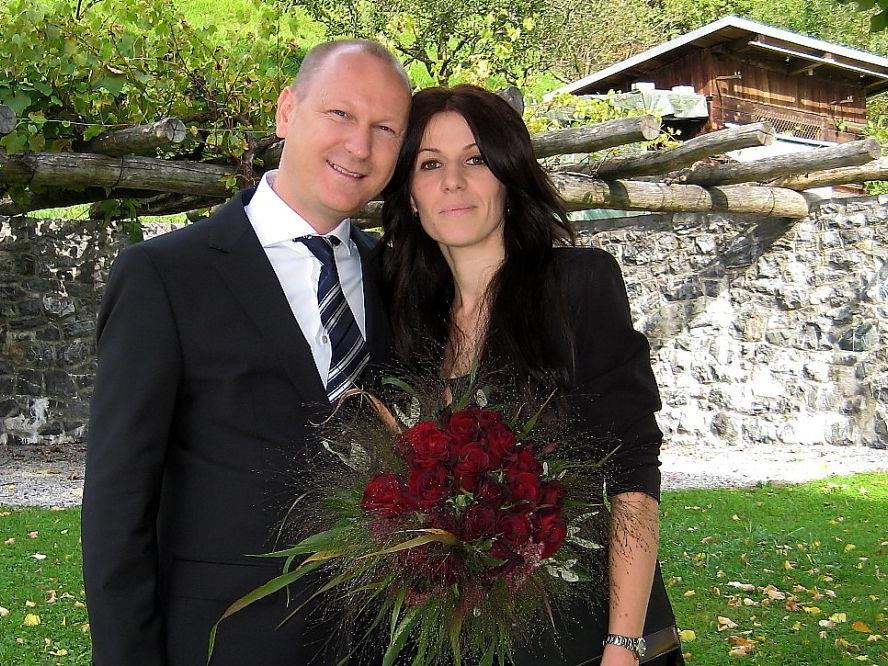 Linda Prenga und Heinz Siegfried Tragner haben geheiratet.