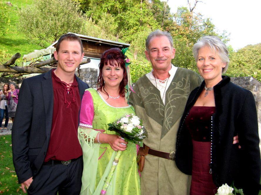 Bettina Zirn und Werner Marte haben geheiratet.