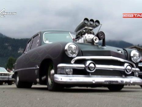 Schnelle Autos waren in Hohenems zu sehen