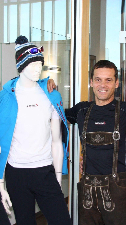 Firma Cocoon mit Chef Peter Jenny zeigte die neueste Winterkollektion und das mit Schnäppchenpreisen.
