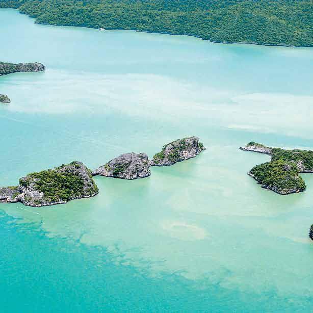 Die Insel Langkawi, die zu Malaysia gehört, ist eines der letzten Tropenparadiese unserer Erde