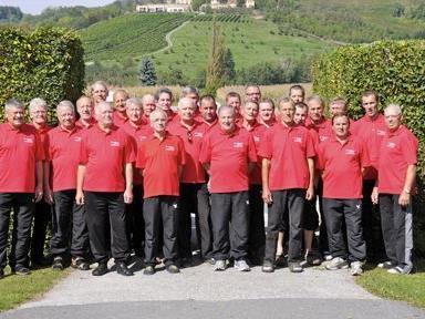 Die Männersportler der Sportgemeinschaft Götzis in Schielleiten