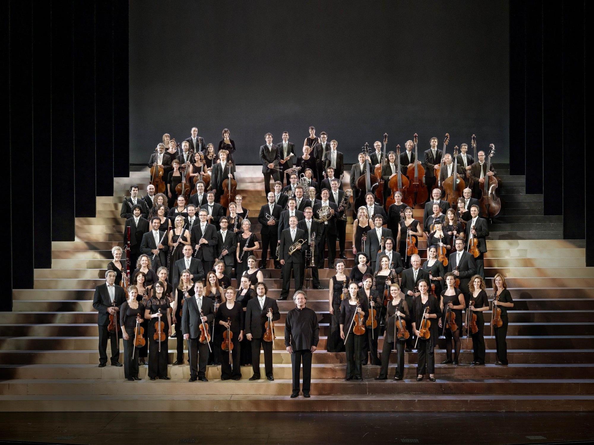 Der fixe Stamm des Symphonieorchesters Vorarlberg besteht aus professionellen Musikern aus Vorarlberg, aber auch aus Deutschland und der Schweiz.