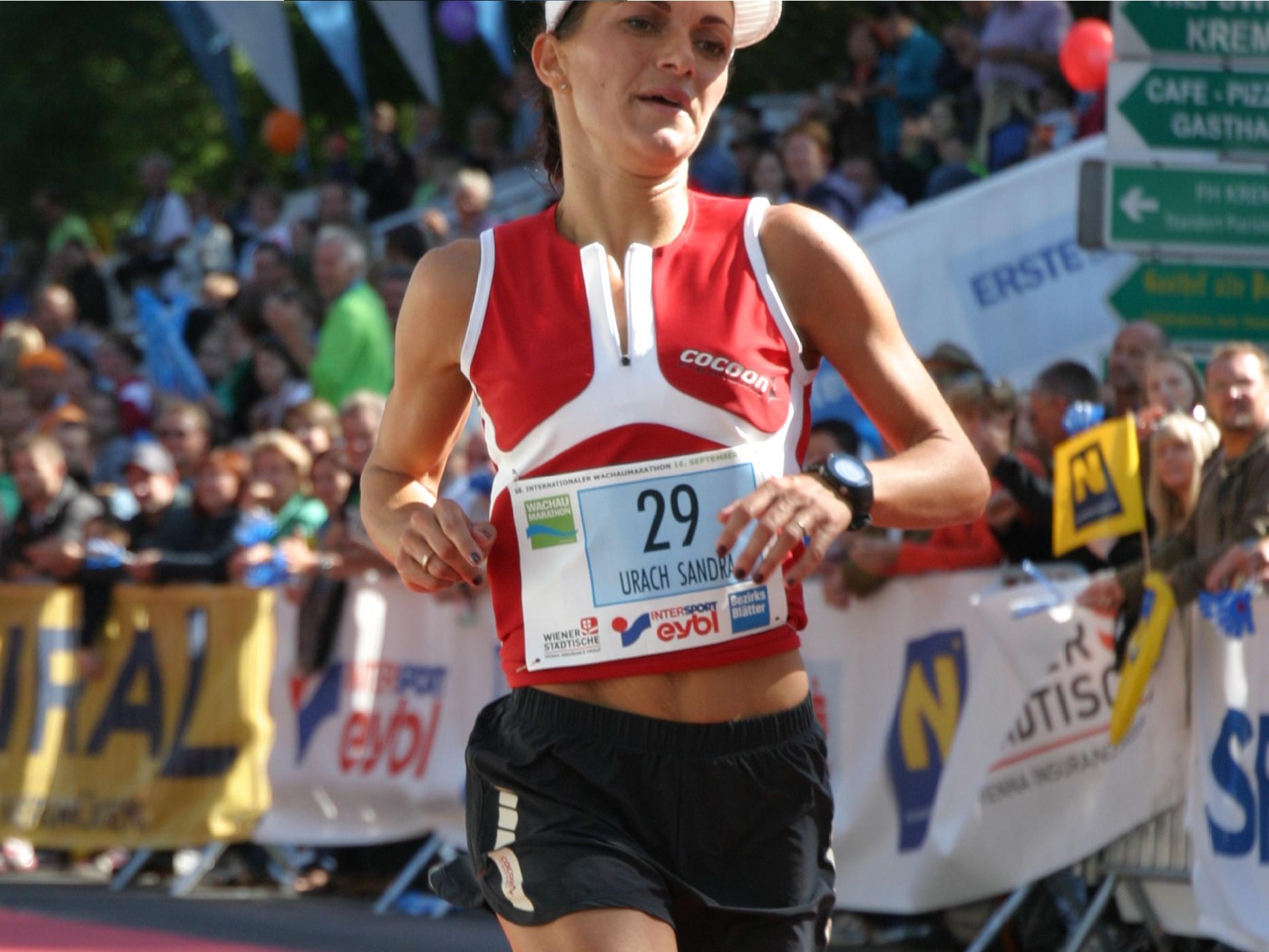 Nur um vier Sekunden verpasste die Andelsbucherin Sandra Urach ihren bestehenden Rekord.
