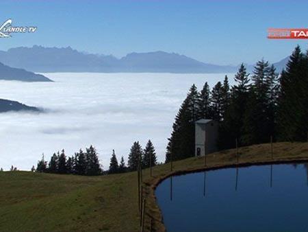 Laterns - über der Nebeldecke