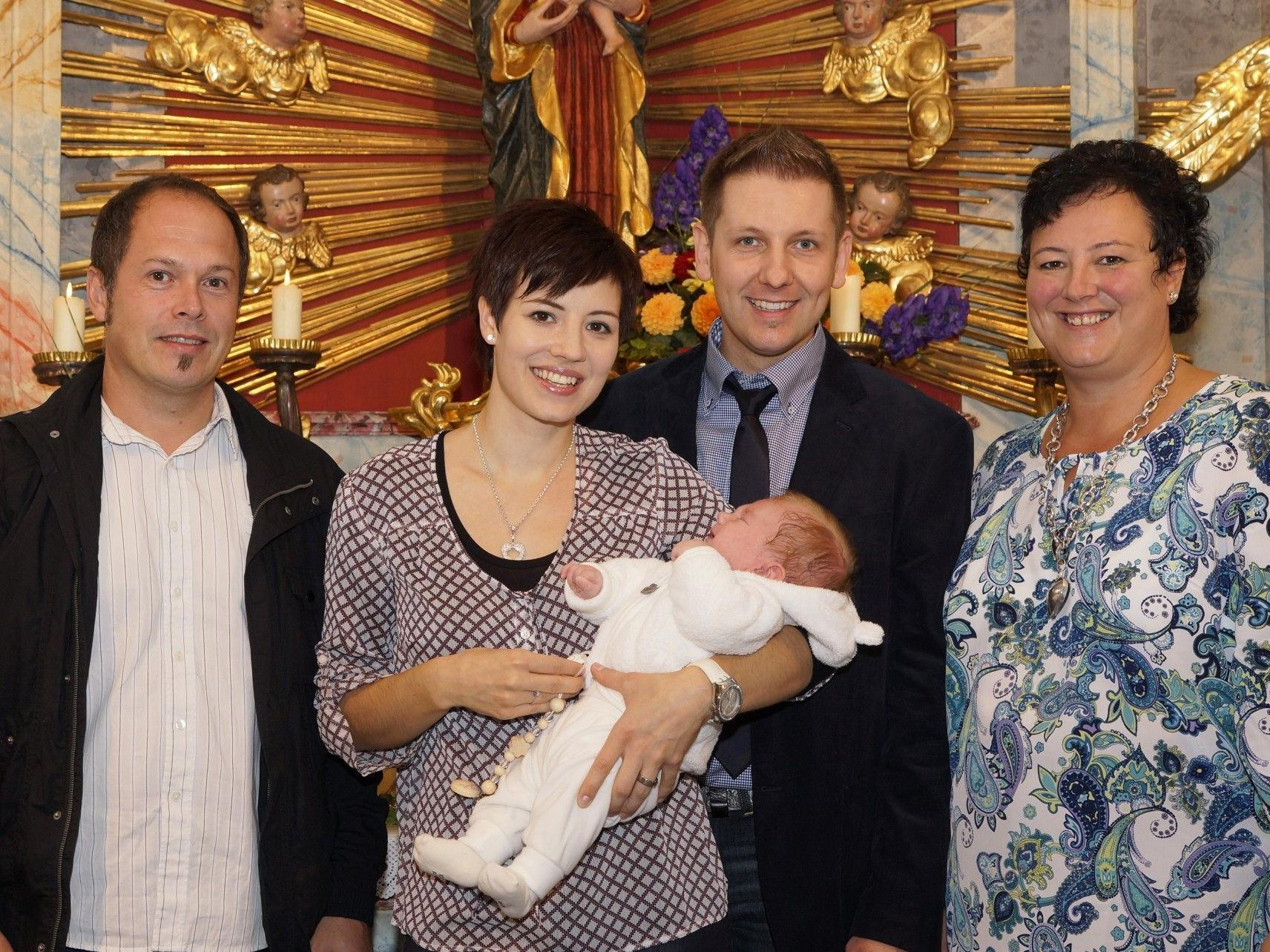 Taufe von Paul Valentin Baur, Loretokapelle am 7.10.12