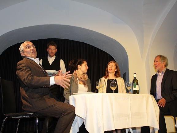 Loriot-Abend Juni 2012 im Theater am Saumarkt