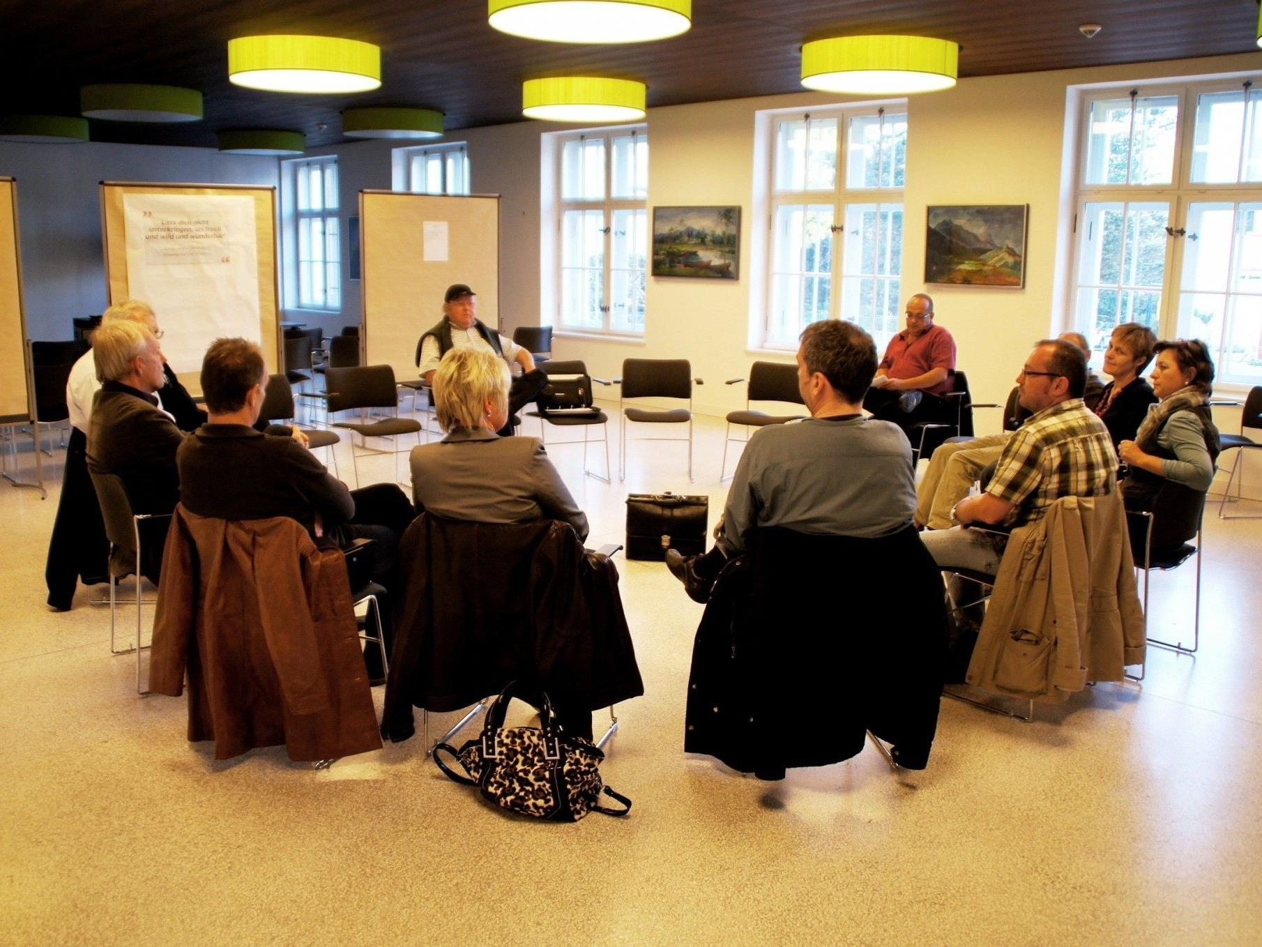 Diskussion der Bürgerinitiative Wiesenrain